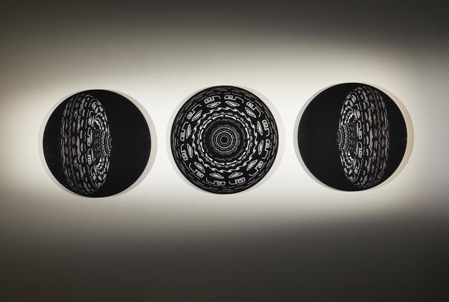 , 'Tríptico Óptico (3 pieces),' 2016, Galeria Lume