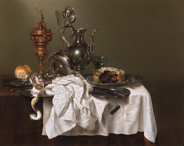 , 'Still Life with a Fruit Pie,' 1644, French & Company LLC