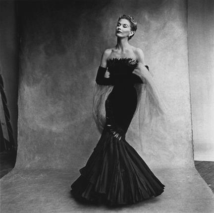 Irving Penn, 'Mermaid Dress: Lisa Fonssagrives in Rochas', 1950, Staley-Wise Gallery