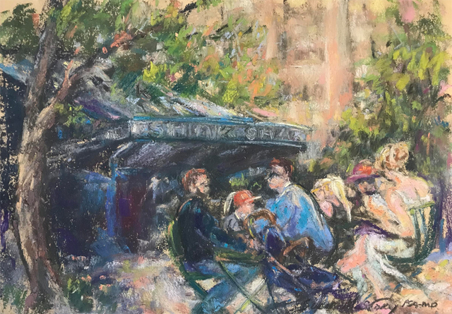 Susan M Story, 'Summer in the City', 2018, Painting, Pastel, The Galleries at Salmagundi