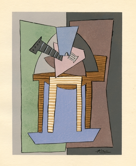 Pablo Picasso, 'Untitled (from Cahiers d'Art)', 1926, Print, Pochoir (after the 1920 watercolour), artrepublic