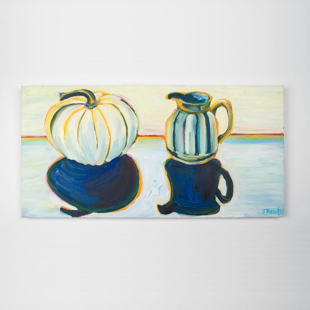 , 'White Pumpkin,' 2018, Ruckus Art Gallery