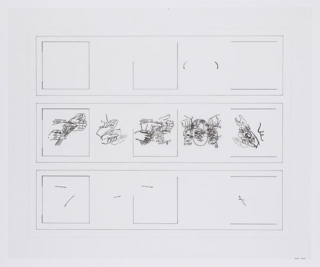 , 'said,' 2003, Reynolds Gallery