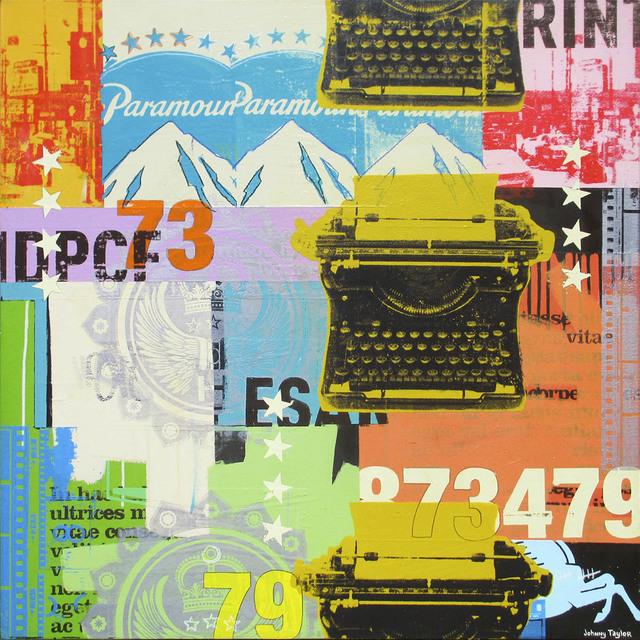 Johnny Taylor, '3 Typewriters', 2014, Artspace Warehouse