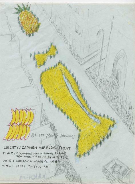 Antoni Miralda, 'Liberty/ Carmen Miralda Float', 1986-1992, Henrique Faria Fine Art