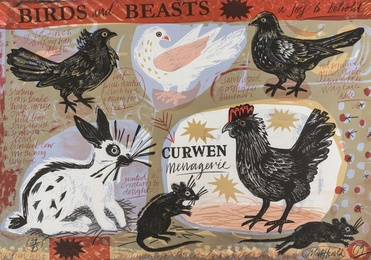 Mark Hearld, 'Curwen Menagerie,' 2009, Forum Auctions: Editions and Works on Paper (March 2017)