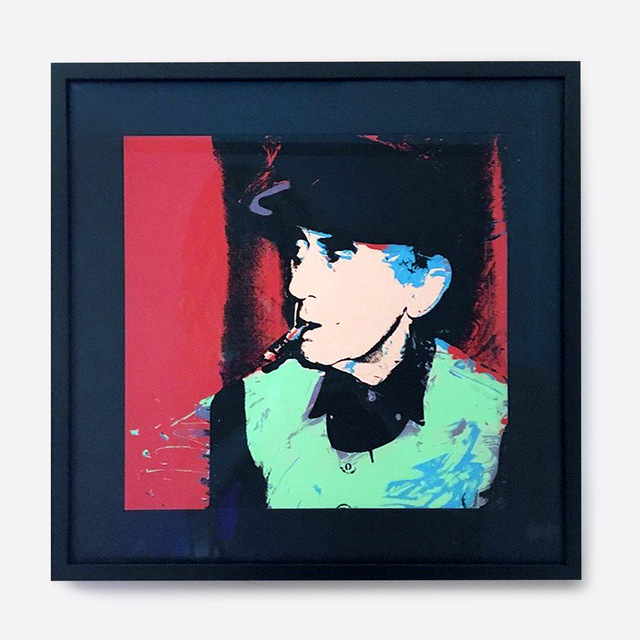 Andy Warhol, 'Man Ray', 1974, Print, Screenprint in colours, on wove paper, the full sheet, Galerie C.O.A