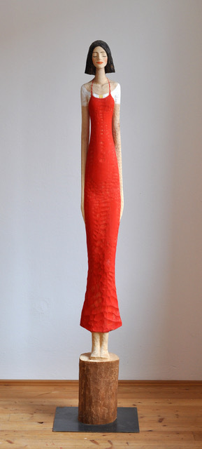 , 'Red Dress,' 2018, Alan Kluckow Fine Art