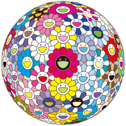 Takashi Murakami, 'Flowerball: Space Show', 2017, Print, Offset Lithograph in Colors, VW Contemporary