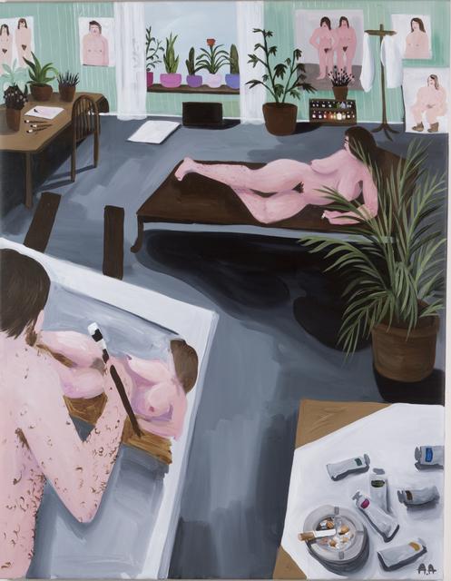 , 'The muse,' 2018, Kristin Hjellegjerde Gallery