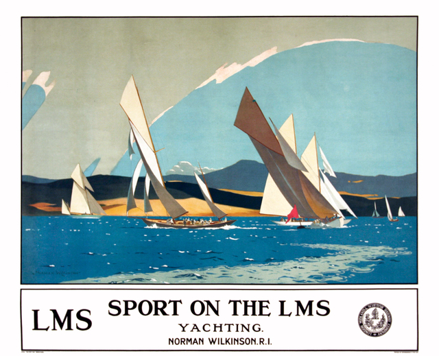 , 'LMS - SPORT ON THE LMS - YACHTING,' c.1930, Omnibus Gallery