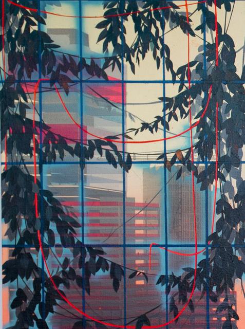 , 'Skyward Bound (Downtown),' 2015, di Rosa