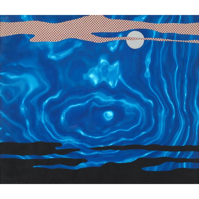 Roy Lichtenstein, 'Moonscape from 11 Pop Artists, Volume I', 1965, Freeman's