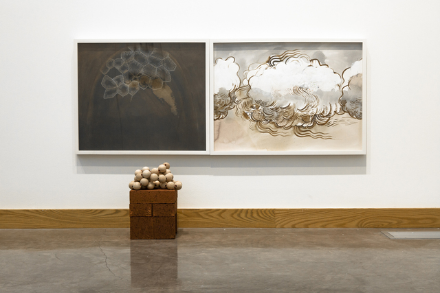 , 'Diptych (Loud Cloud + Domed Fossil),' 2016, G. Gibson Gallery