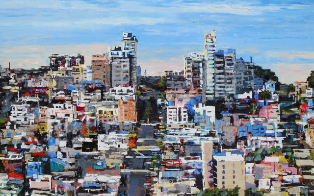 , 'Greenwich Street/Russian Hill,' 2015, Seager Gray Gallery