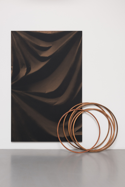 , 'Folds and Hoops,' 2015, Pilar Corrias Gallery