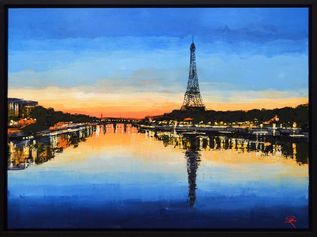 Paul Kenton, 'Parisian Glow', 2018, Castle Fine Art