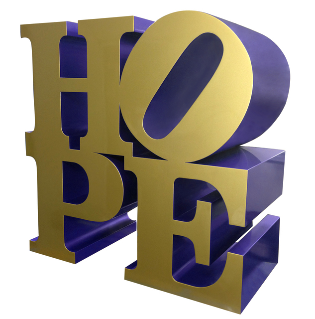 , 'HOPE (Gold/Blue),' 2009, Galeria Freites