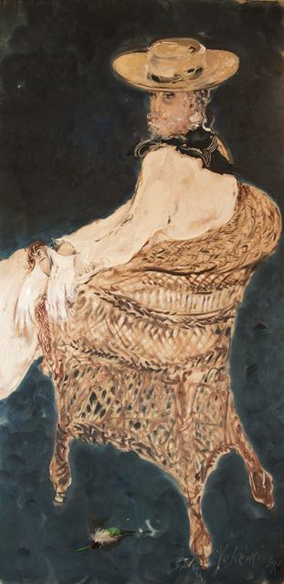 SRĐAN VUKČEVIĆ, 'Portrait with a Hat and Gloves', 2017, Museum of Modern Art Dubrovnik