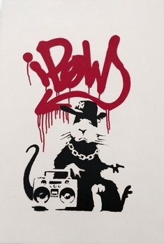 Banksy, 'Gangsta Rat signed', 2004, Lionel Gallery