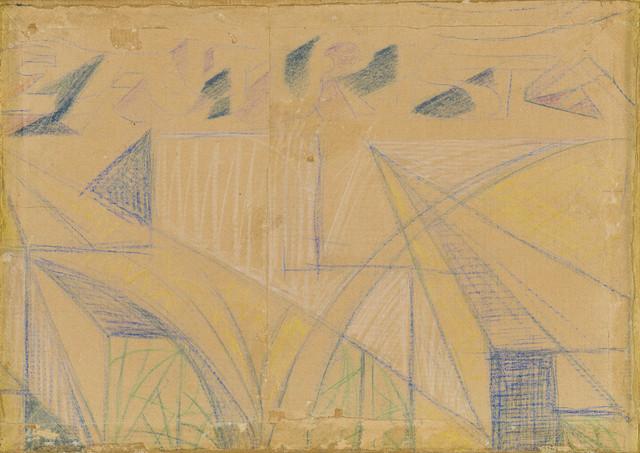 Giacomo Balla, 'Disegno per manifesto', 1923, ArtRite