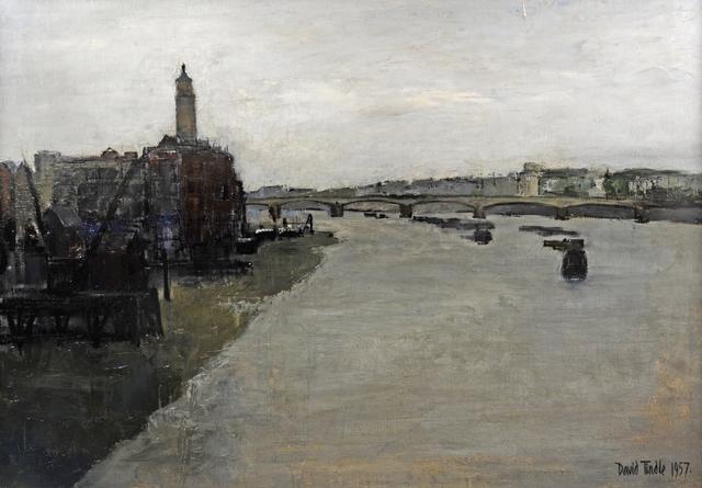 , 'WATERLOO BRIDGE,' 1957, Chris Beetles Gallery