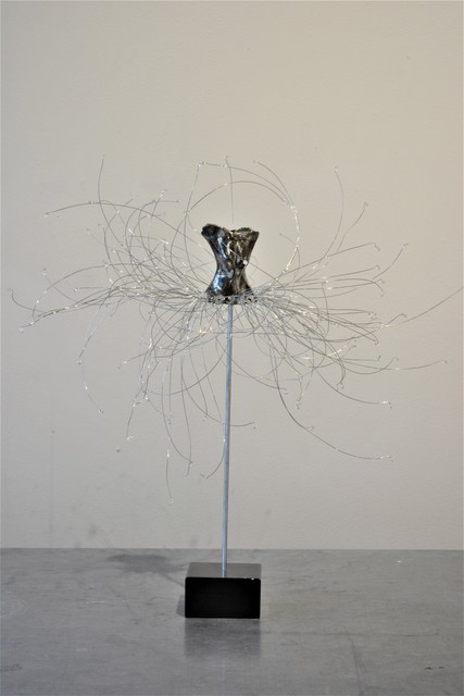 Estella Fransbergen, 'High Fired Torso, Swarovski Crystal', 2019, Shain Gallery