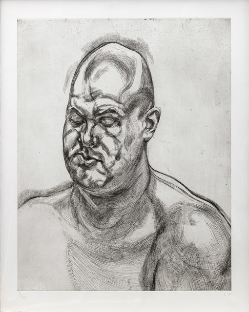 , 'Large Head,' 1995, Marlborough London