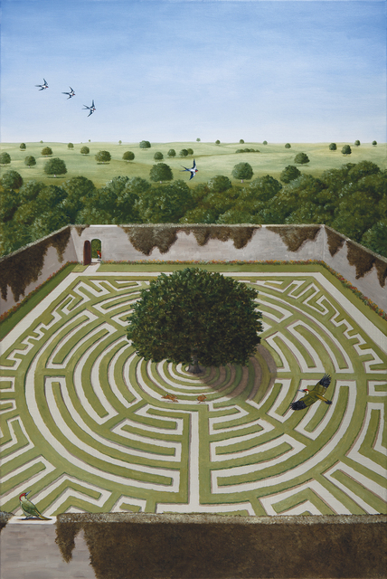 , 'A Majesty of Oaks,' 2018, Jonathan Cooper