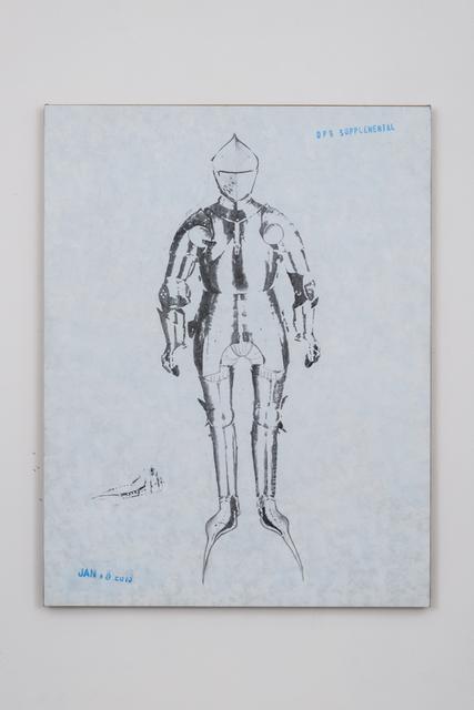 , 'DPS # 24 (Knight Leaning Toward the Right),' 2014, Bortolami