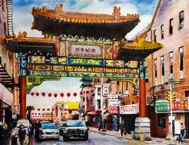 Lisa McGovern, 'Philadelphia's China Town ', 2014, Light Space & Time