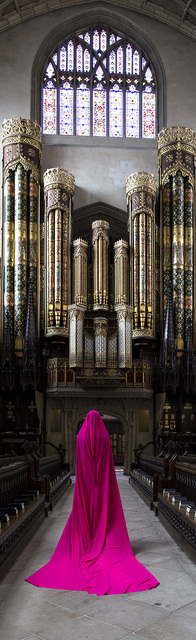 , 'Woman at Eton College Chapel (II),' 2016, Karavil Contemporary