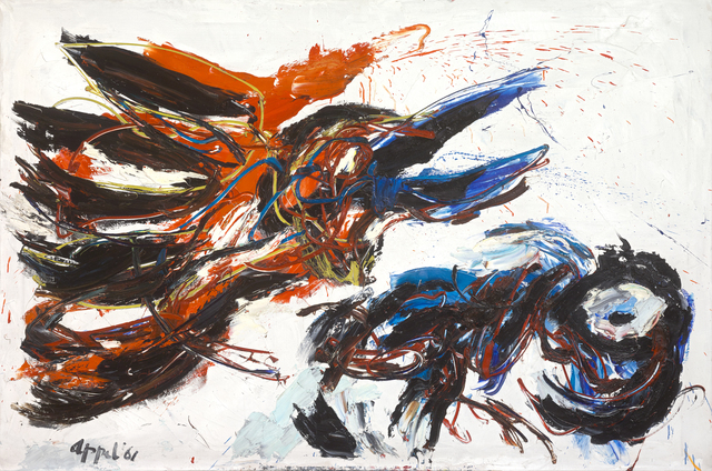 Karel Appel, 'L'Oiseau en Chasse', 1961, Miriam Shiell Fine Art