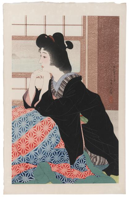 , 'Snow (Yuki),' 1929, Scholten Japanese Art