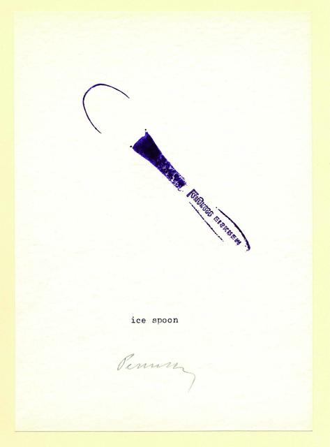 , 'Stamping Little Objects,' 1973, Chimera-Project Gallery