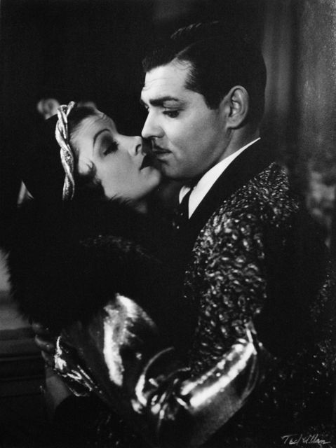 """Ted Allan, 'Myrna Loy and Clark Gable in """"Manhattan Melodrama""""', 1934, Photography, Gelatin Silver Print, Staley-Wise Gallery"""