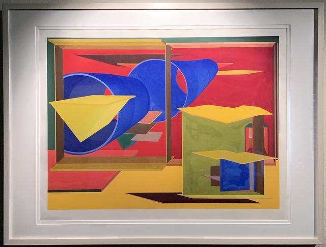 Al Held, 'Pachinko', 1989, iMuseum Vegas