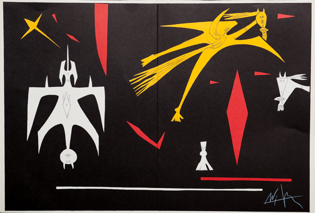 Wifredo Lam, 'Untitled from Derrière le Miroir', 1953, Print, Lithograph, RoGallery