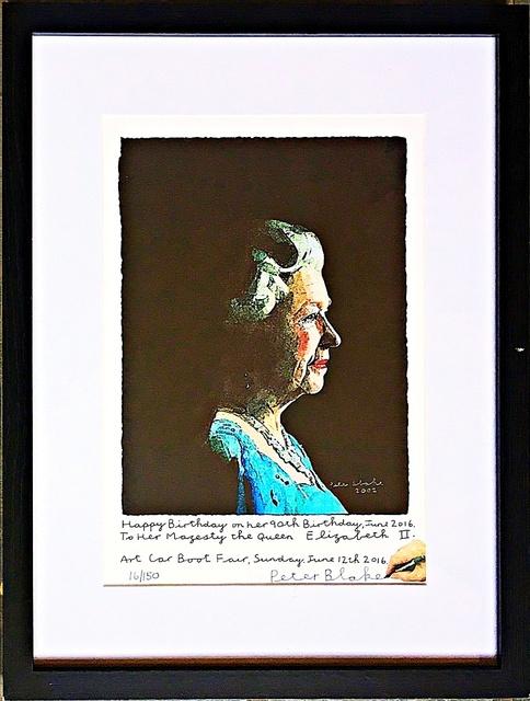 Peter Blake, 'To Her Majesty, Queen Elizabeth II', 2016, Alpha 137 Gallery