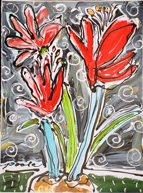 , 'Amaryllis - Pattern,' , Wallace Galleries