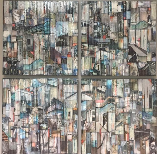 , 'Rise and Climb - Quadriptych,' 2017, Ai Bo Gallery