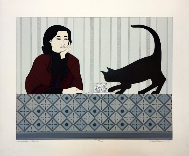Will Barnet, 'Meditation & Minou			', 1980, Resource Art
