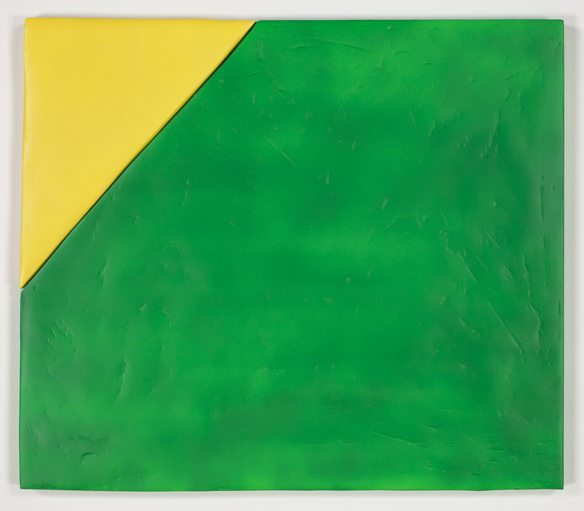 , 'Wipe, Montana Gold Banana and Ace Fluorescent Green,' 2011, The FLAG Art Foundation