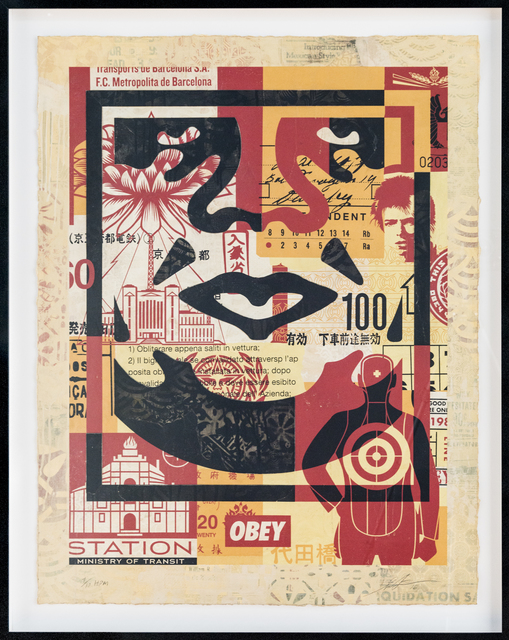 Shepard Fairey (OBEY), 'Icon Collage (Bottom)', 2016, Print Them All