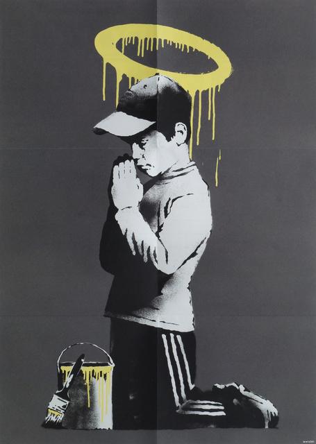 Banksy, 'Forgive Us Our Trespassing', 2010, Roseberys