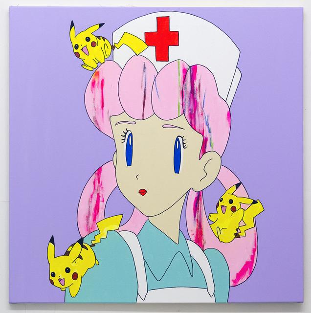 , 'Lilac Nurse ,' 2018, Tatjana Pieters