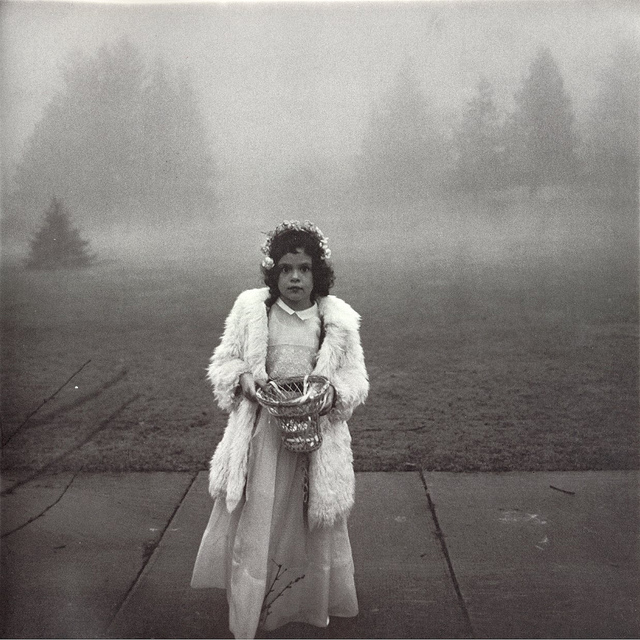 Diane Arbus, 'A Flower Girl at a Wedding, Connecticut', 1964, Robert Klein Gallery