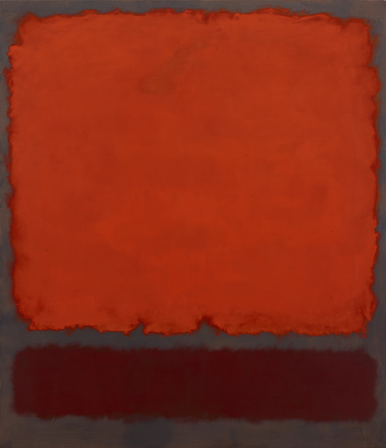 Mark Rothko, 'Orange, Red and Red', 1962, Dallas Museum of Art