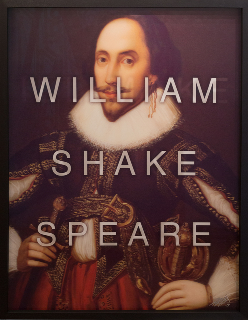, 'William Shakespeare / I'll Make a Wise Phrase,' 2015, HG Contemporary