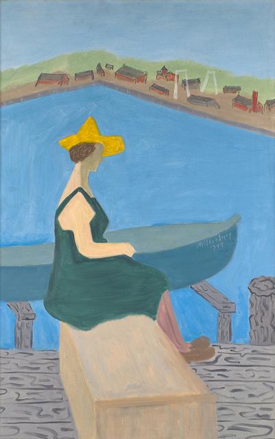 Milton Avery, 'Girl by Lake', 1944, Rago
